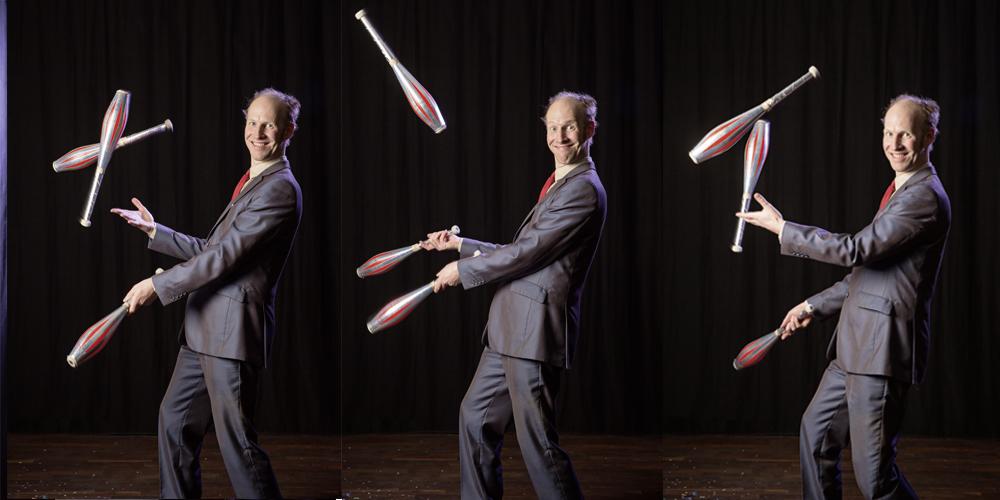 Keulen jonglieren