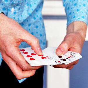 Spielkartenmagie
